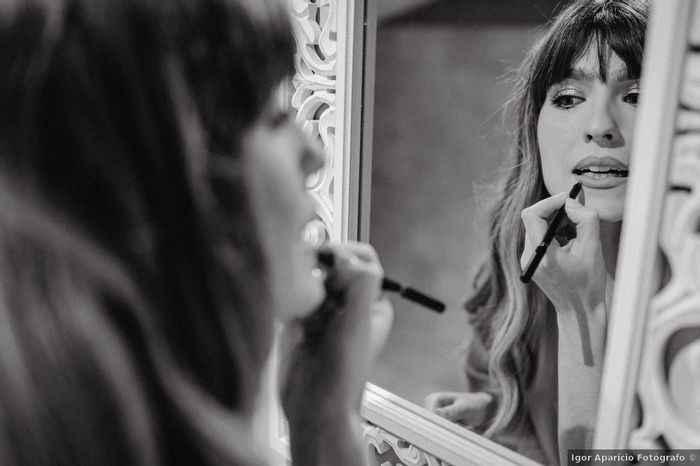 Usar perfilador de labios para el casamiento - 1