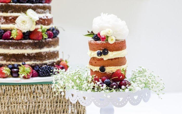 Tortas de novios y cupcakes 1
