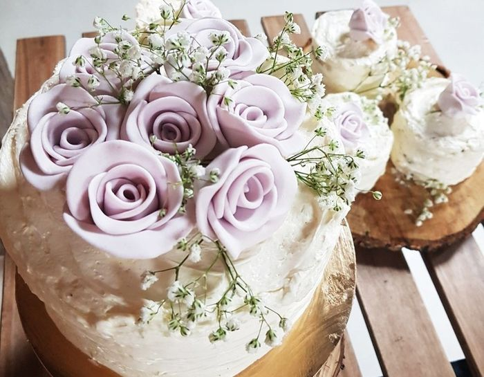 Tortas de novios y cupcakes 2