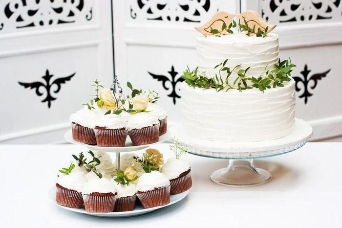 Tortas de novios y cupcakes 3