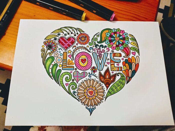Mandalas amorosos para vos: ¡Jugá y llevatelos! 🎨 1
