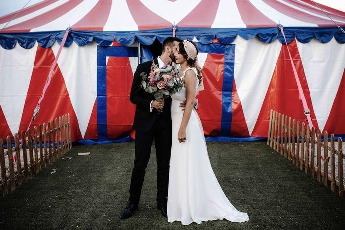 Casamiento inspirado en una Kermés 1