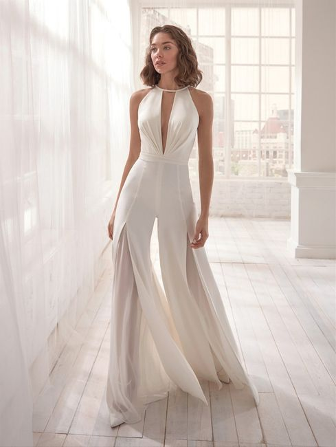 Vestidos de novias para casamientos en la nueva normalidad 2