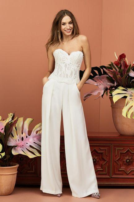 Vestidos de novias para casamientos en la nueva normalidad 3