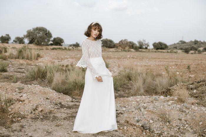 Vestidos de novias para casamientos en la nueva normalidad 1
