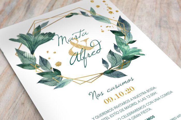 Los invitaciones: ¿Los comprás o las mandás a hacer? 1