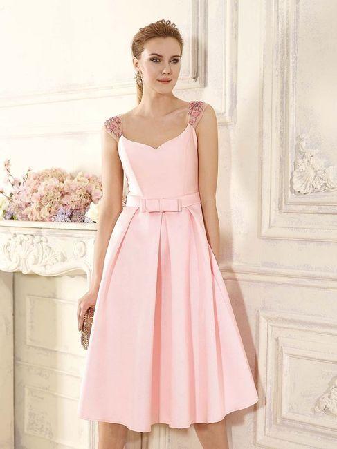 Vestidos en tonos ROSA para invitadas 3