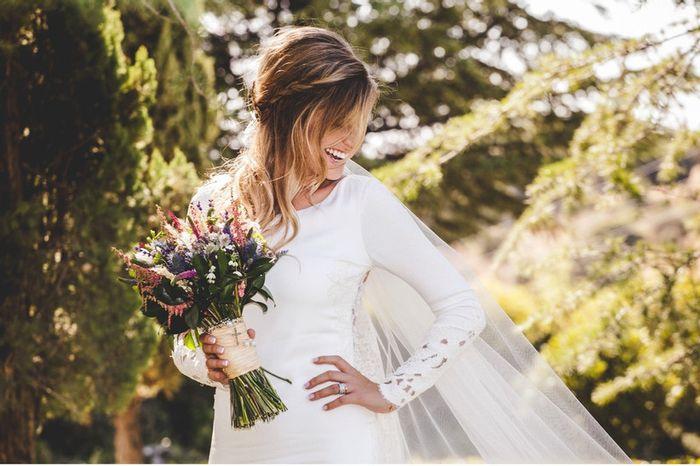 Como máximo voy a gastar ____  en el vestido de novia 1