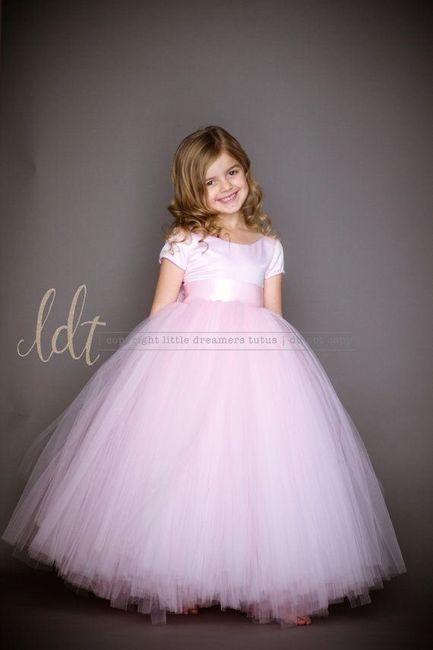 Vestidos para niñas en rosa