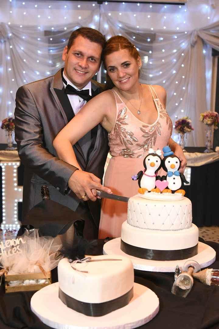 Mi bella torta, el adorno lo hizo mi suegra!