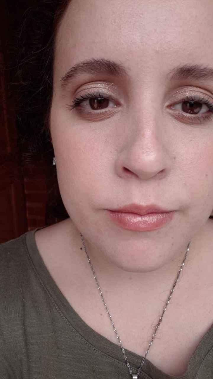 48 días: llegamos a un acuerdo con la maquilladora - 1