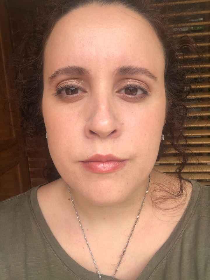 48 días: llegamos a un acuerdo con la maquilladora - 2