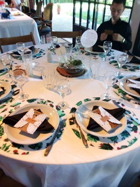 Color de las mesas redondas 2