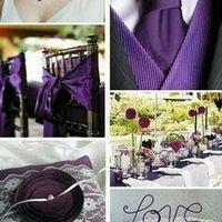 Laura y Mati el color de nuestra boda será violeta lila y blanco - 2