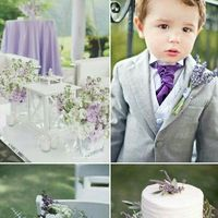 Laura y Mati el color de nuestra boda será violeta lila y blanco - 3