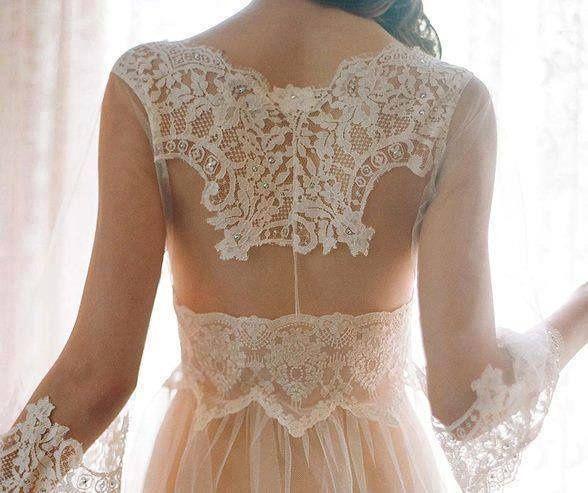 vestido de novia estilo shabby chic – vestidos largos