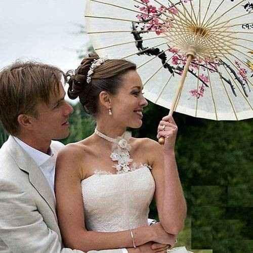 Sombrillas para novias