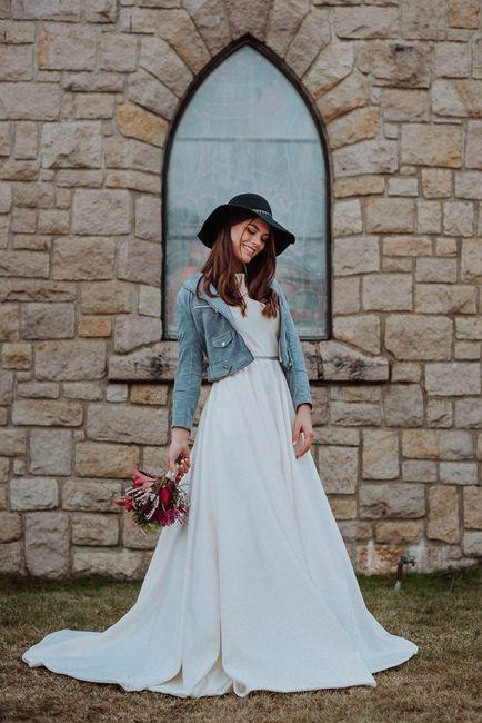 vestido con camperas de jean!!