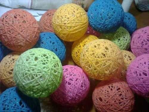 esferas hilo sisal