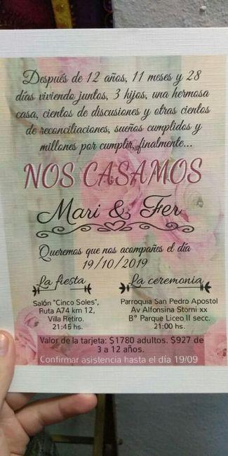 """""""novias octubre 2019, digan presente"""" 1"""