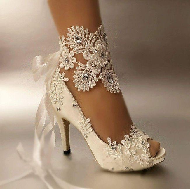 calzado para novia