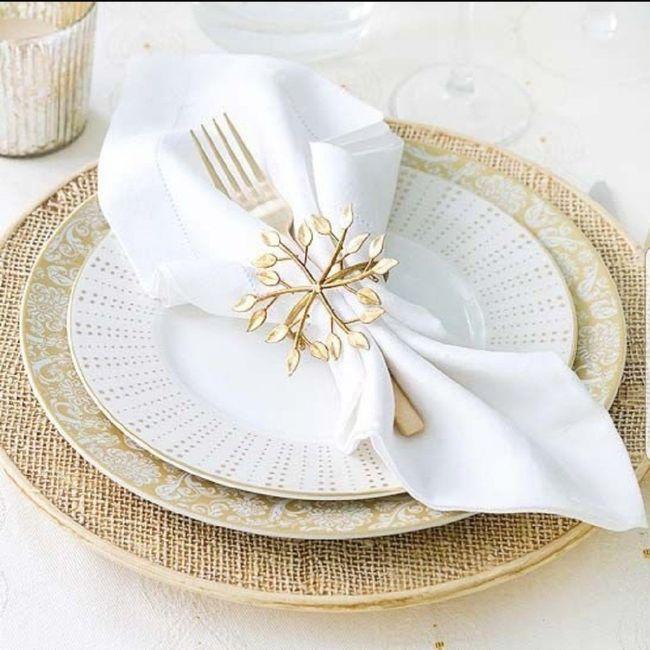 Elegante diseño de servilletas 1