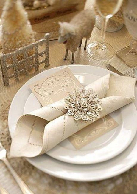 Elegante diseño de servilletas 4