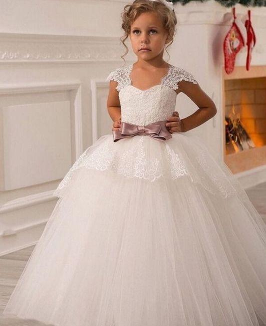 ba4a2d13c Elegante vestidos para pajecitas