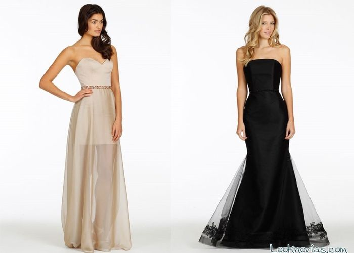 dd2f453e0 Vestidos modernos para dama de honor - Vestidos no caros 2019