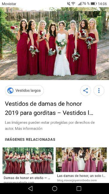 Damas de honor 2