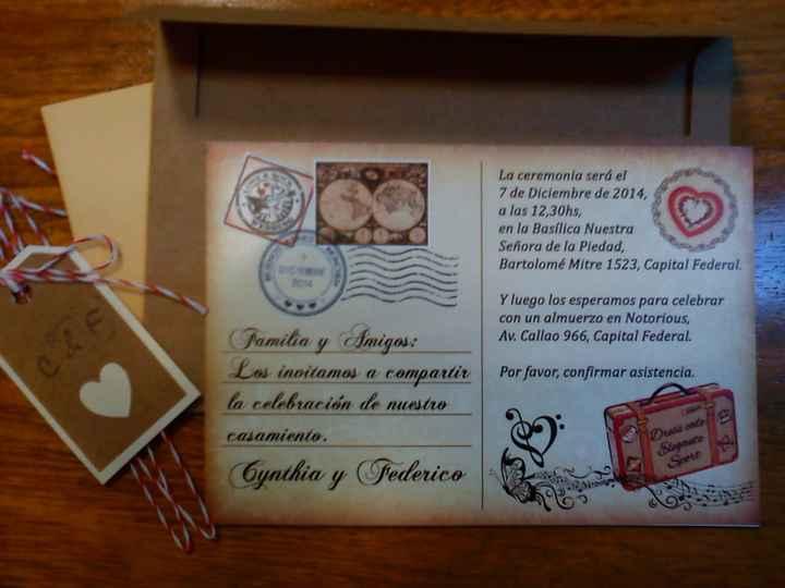 Postal - Invitación