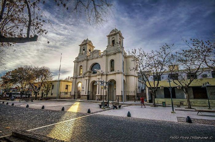 """Ya tenemos iglesia. """"basílica de Luján de Cuyo"""" 1"""