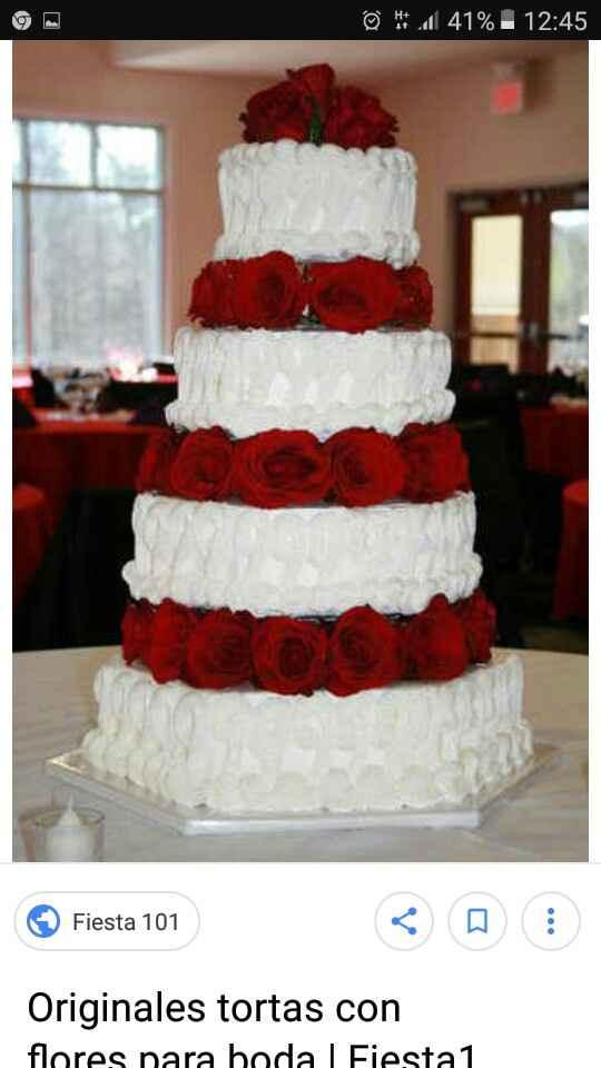 Asi sera mi torta de casamiento!!! - 1