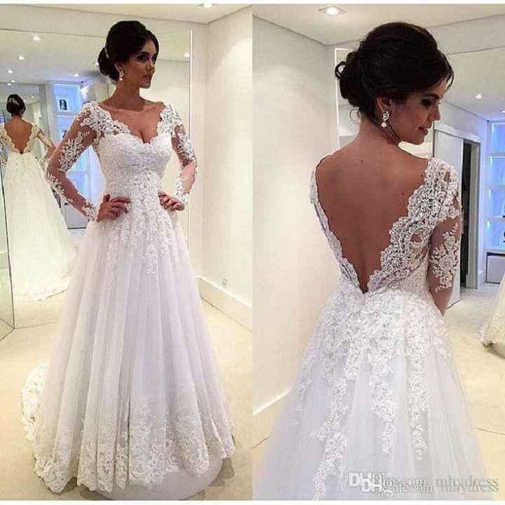 Vestidos de novia para el mes rosa - 1