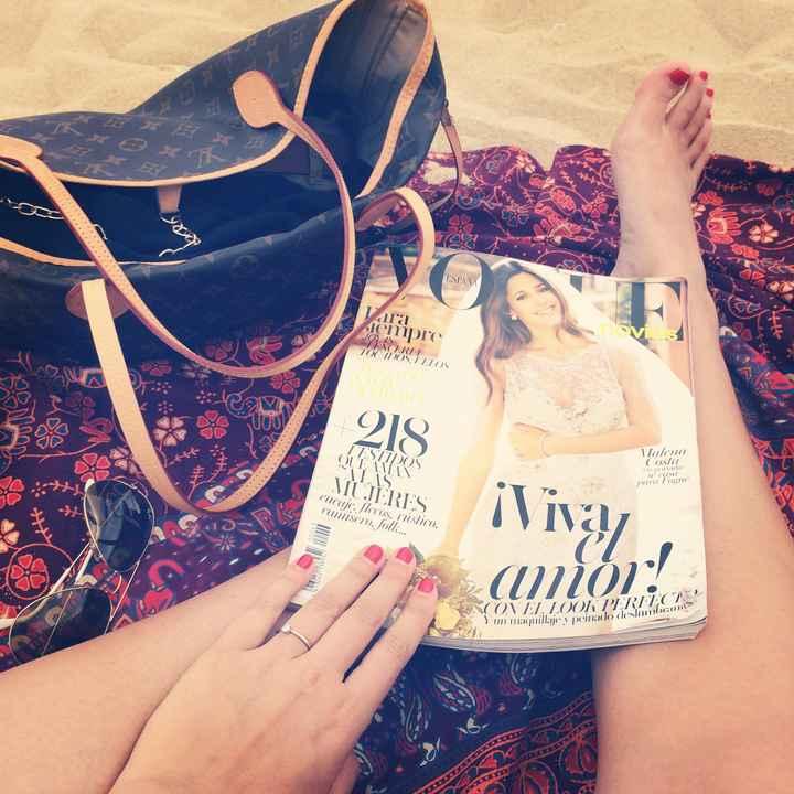 Vacaciones comprometida 💖
