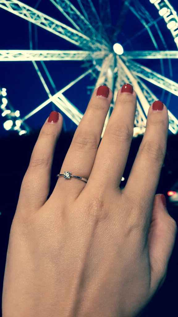 ¿cómo te pidió matrimonio? - 1