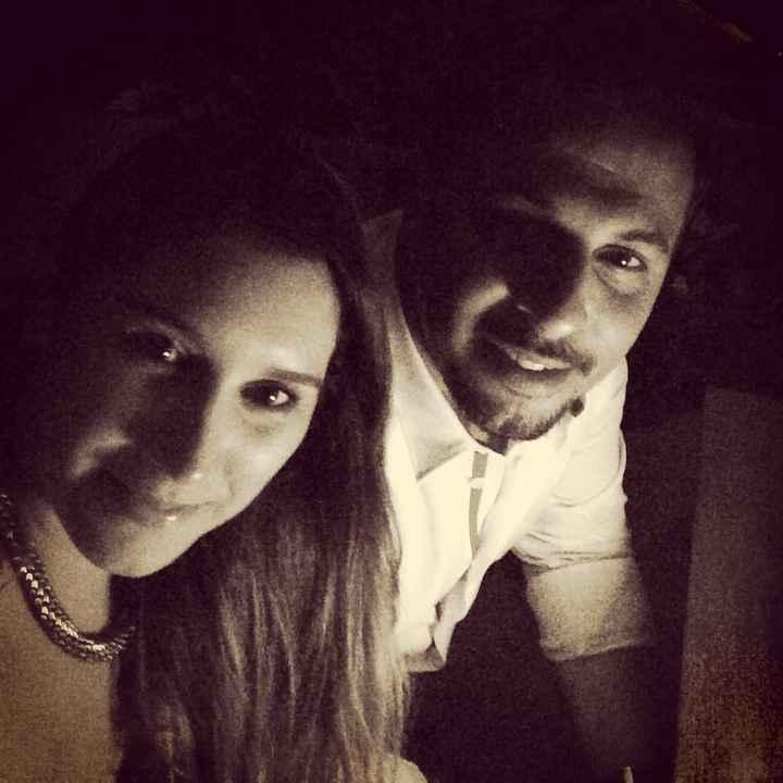 Con mi futuro marido ❤️👰