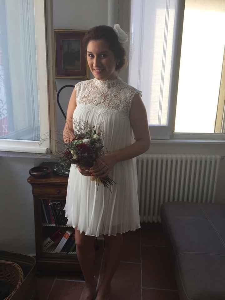 Mi vestido de civil (civil en italia) - 1