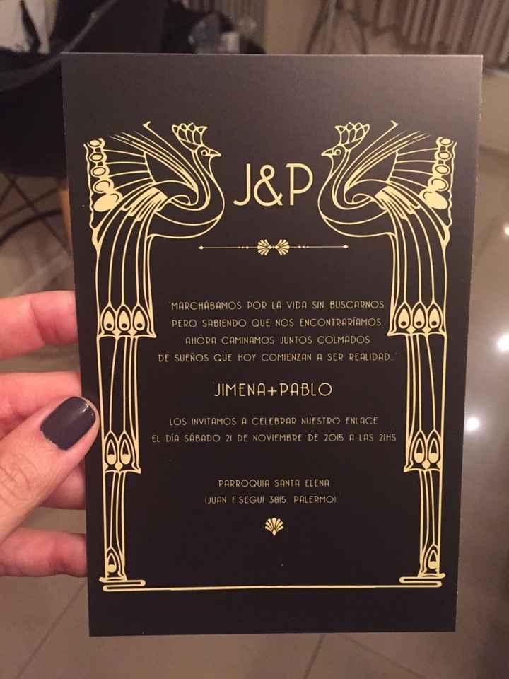 Invitaciones!!!! - 1