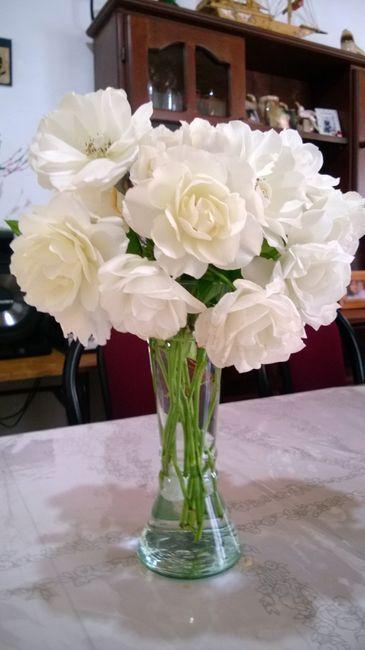 Centro de mesa con flores naturales mas barato for Centros de mesa con plantas naturales