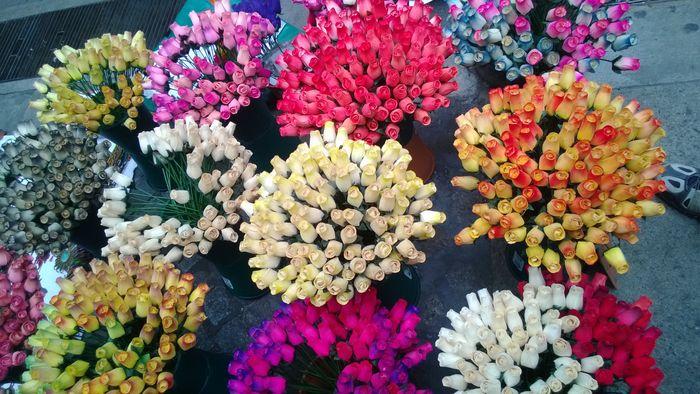mi centro de mesa con flores secas