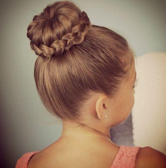 Peinados de recogidos para ninas