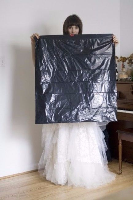 cómo hacer pipi con tu vestido de novia en 4 pasos (seccion ecologica)