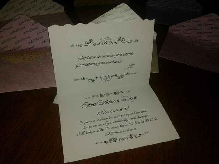 Mis invitaciones de boda - 2