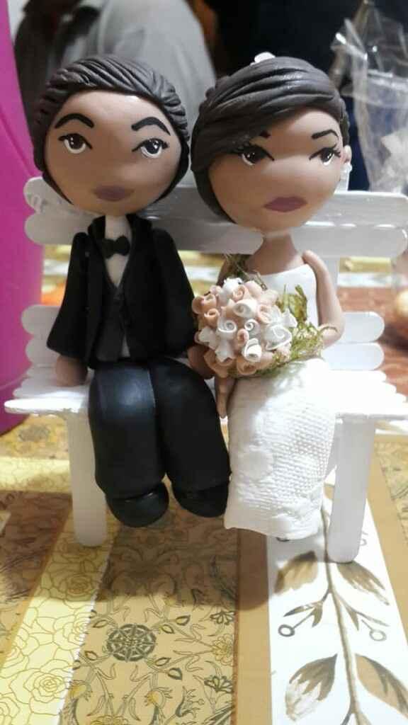 Novios para la torta ❤ - 2