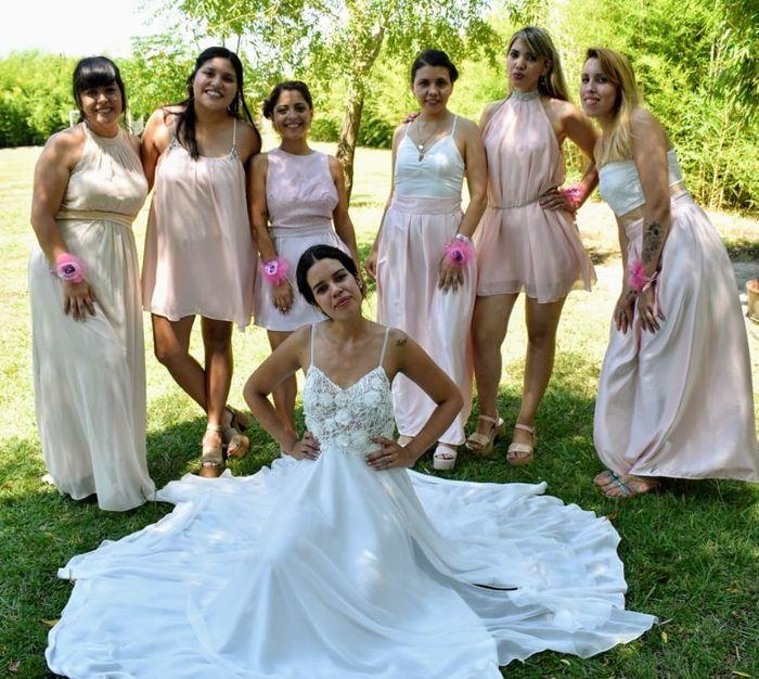 Damas de honor: ¿Re novia o In-novia? 2