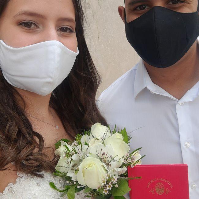 Me casé en Pandemia 1