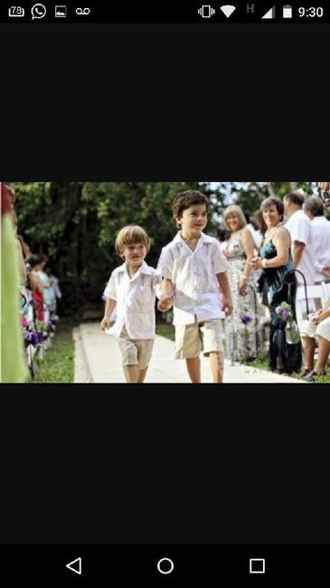 11340e825 Vestimenta de cortejo niños - 2