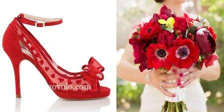 5 Zapatos rojos para novias apasionadas 5 21adedb0a52