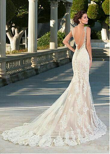 último vendedor caliente gran selección originales Vestidos de novia estilo sirena